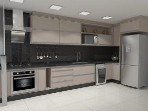 meble kuchenne lakierowane zdjęcia